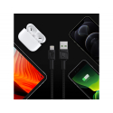 Cable Green Cell GC PowerStream USB-A - Lightning 120cm, for iPhone, iPad, iPod, fast charging