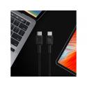 Kabel Green Cell GC PowerStream USB-C - USB-C 30cm, szybkie ładowanie Power Delivery (60W), Ultra Charge, QC 3.0