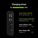 Power Bank Green Cell GC PowerPlay Ultra 26800mAh 128W 4-portowy z możliwością ładowania ultrabooka, tabletu i dwóch smartfonów