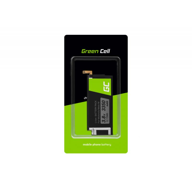 Green Cell Akku FB55 für Motorola Moto X Force Moto M Telefon