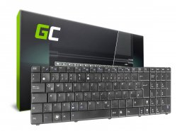 Green Cell ® Keyboard for Laptop Asus F52 K50 K50C K50IJ K50IN