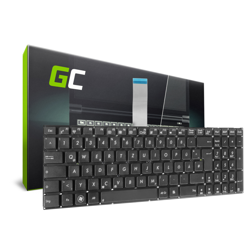 Green Cell ® Keyboard for Laptop Asus X550 X550CA X550CC X550C X550L X550V R510 R510C R510L