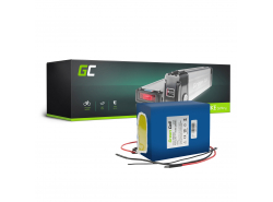 Green Cell® E-Bike Battery 24V 14.5Ah Battery Pack with Li-Ion Panasonic Cells