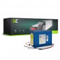 Green Cell® E-Bike Battery 24V 14.5Ah Battery Pack with Li-Ion Panasonic Cells