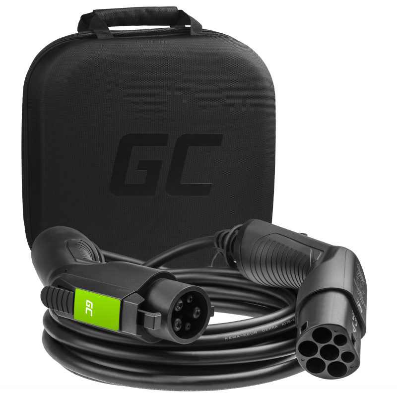 Cable Green Cell GC Type 1 7,2kW 16.4ft for charging EV / PHEV