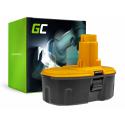 Bateria Akumulator Green Cell do DeWalt DE9093 DE9503 DC212 18V 3Ah