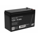 Green Cell® AGM 12V 9Ah VRLA Battery Gel deep cycle UPS Uninterruptible Power Supply energy backup system