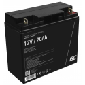 Green Cell® AGM 12V 20Ah Akku VRLA Blei-Batterie Unbemann Fischkutter Boot Scooter Rasentraktor Rasenmäher