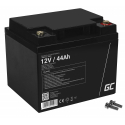 Green Cell® AGM 12V 44Ah VRLA Battery Gel deep cycle powerchair photovoltaic leisure battery campervan