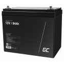 Green Cell® AGM 12V 84Ah VRLA Battery Gel deep cycle powerchair photovoltaic leisure battery campervan