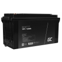 GreenCell® AGM 12V 120Ah VRLA Battery Gel deep cycle powerchair photovoltaic leisure battery campervan
