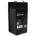 Green Cell® AGM4V 4Ah VRLA Battery Gel deep cycle toys for kids alarm systems for toy vehicles toy car