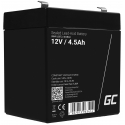 Green Cell® AGM 12V 4.5Ah VRLA Battery Gel deep cycle toys for kids alarm systems for toy vehicles toy car