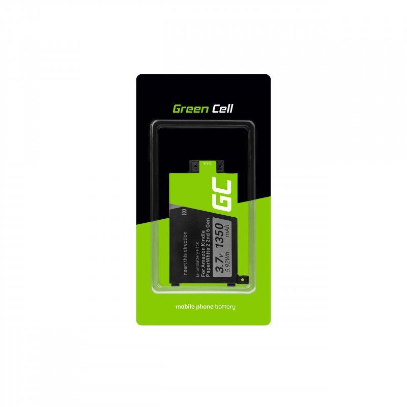 Green Cell ® Akku 58-000049  für Amazon Kindle Paperwhite II 2013 oraz Amazon Kindle Paperwhite III 2015 Ebook-Reader