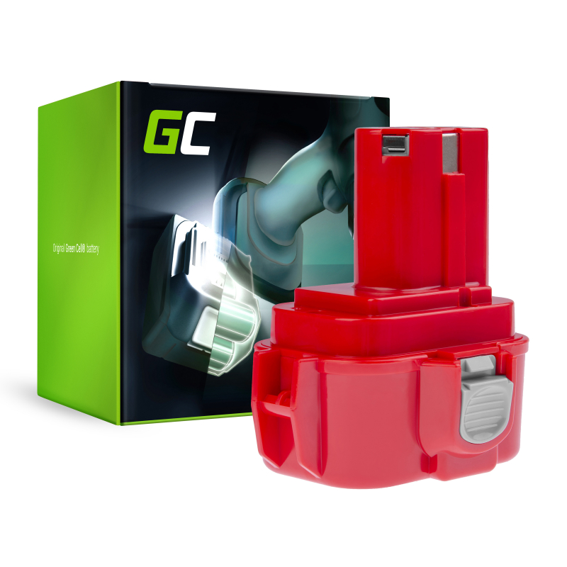 Bateria Akumulator 9120 9122 9134 9135 PA09 Green Cell do Makita 6207D 6222D 6261D 6503D 6909D 6991D
