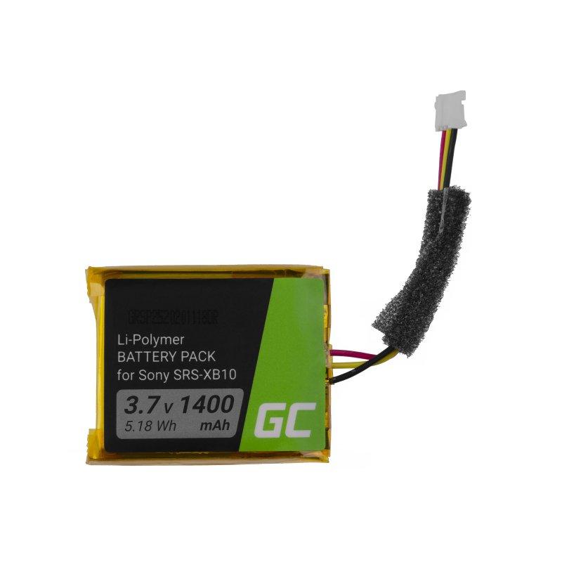 Green Cell Akku CP-XB10 SF-08 für Lautsprecher Sony SRS-XB10 SRS-XB12 Extra Bass , 3.7V 1400mAh