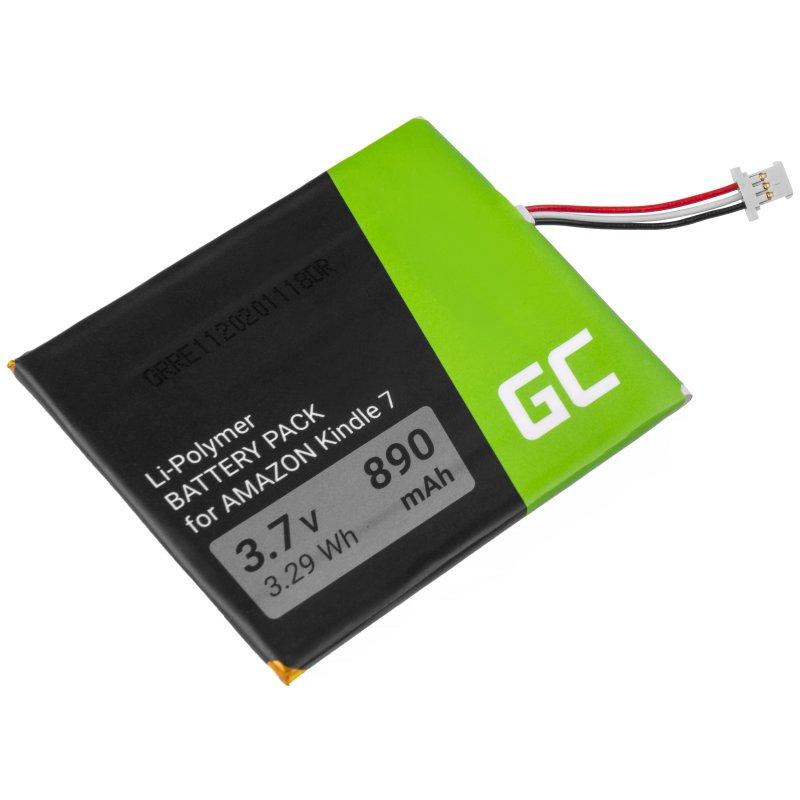 Green Cell Akku Batterie CS-ABD063SL 58-000083 für Amazon Kindle 7 / 8, E-book 890mAh