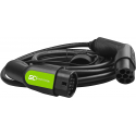 Cable Green Cell GC Type 2 7.2kW 16.4 ft for charging EV / PHEV