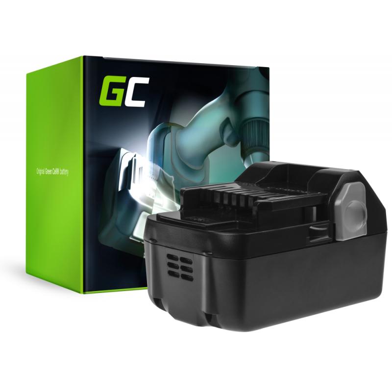 Green Cell ® Akku für Hitachi C18DSL C18DSL2 C18DSLP4 CG18DSDL CJ18DSL 18V 4Ah