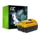 Bateria Akumulator Green Cell do DeWalt DCB140 DCB141 DCB142 DCB140-XJ DCB141-XJ 14.4V 3Ah