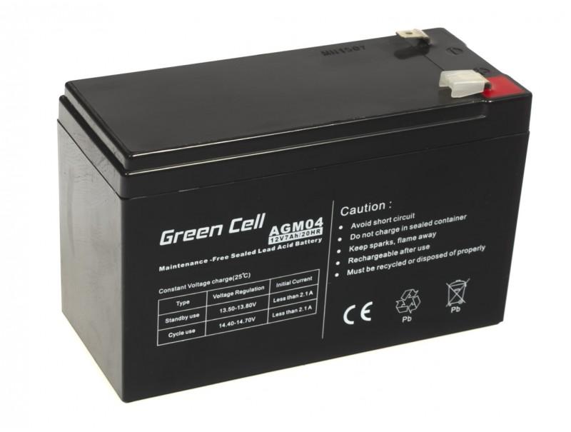Green Cell ® Gel Battery AGM 12V 7Ah