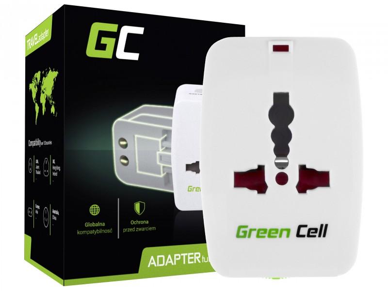 Green Cell ® Universaladapter zur Steckdose