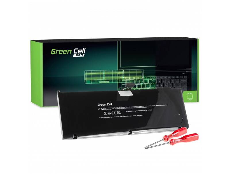 Green Cell ® PRO Akku A1321 für Apple MacBook Pro 15 A1286 (Mid 2009, Mid 2010)