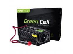 Przetwornica napięcia Inwerter Green Cell® 12V na 230V 150W/300W Modyfikowana sinusoida