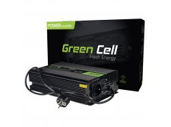 Green Cell® Wechselrichter Spannungswandler 12V auf 230V Reiner sinus 300W/600W USV für Öfen und Zentralheizungspumpen