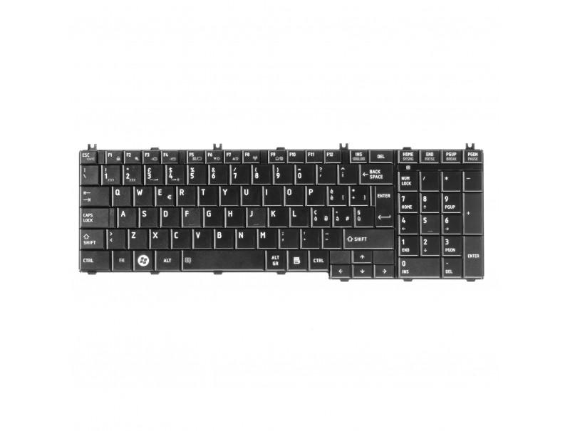 Tastiera per Toshiba Satellite In serie C650 C655 C660 L650 L670 L750